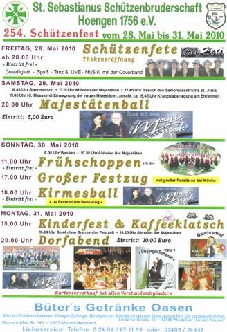 28.05.10 – Schützenfete in Hoengen