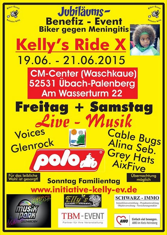 Kelly`s Ride 10 – Jubiläums-Event