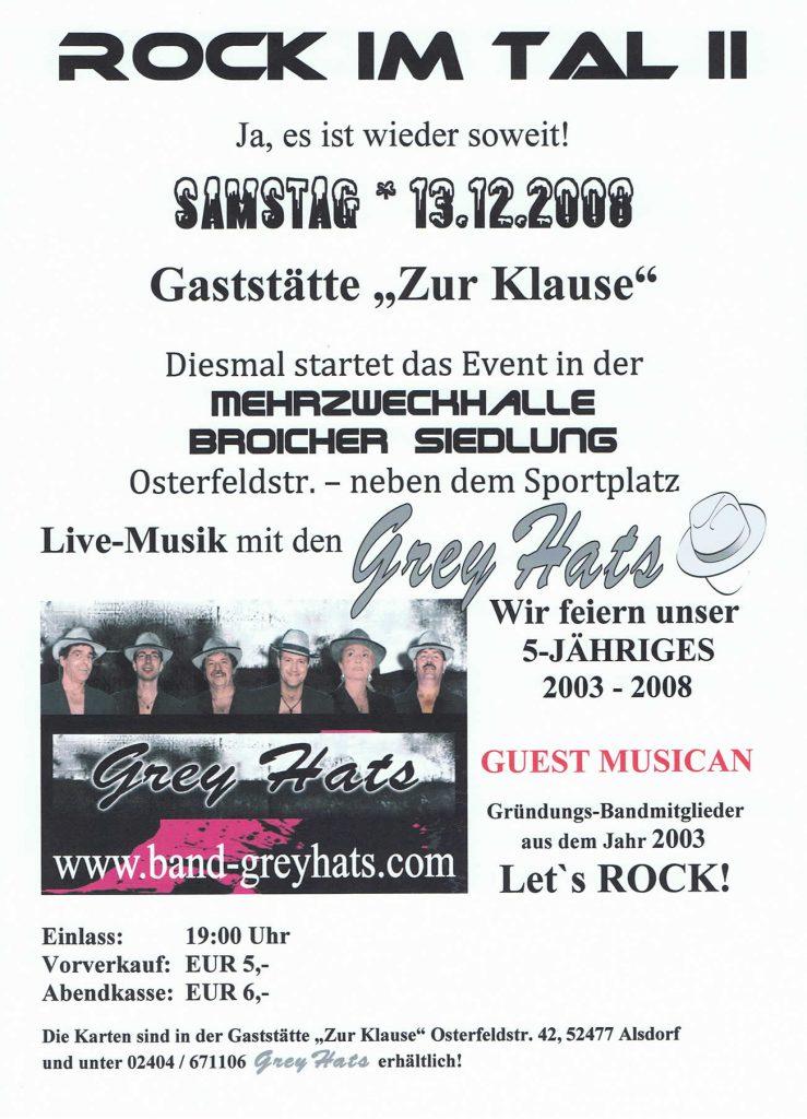 Rock im Tal II – 5 Jahre Grey Hats